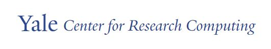 Yale Center for Research Computing text logo
