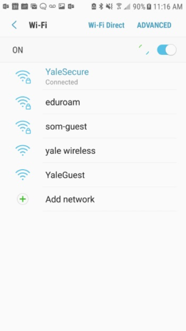 YaleSecure Connected