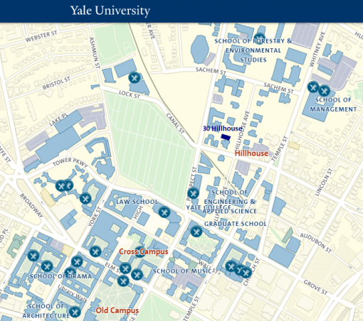 map of yale campus Visiting Faculty Frequently Asked Questions Cowles Foundation map of yale campus